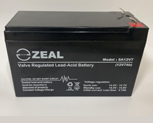 AUS CELL No. 1 Sealed Lead Acid Alarm Battery