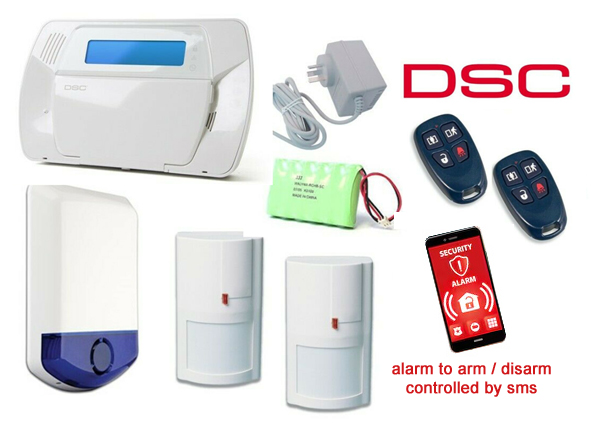 DSC professional grade security burglar alarm